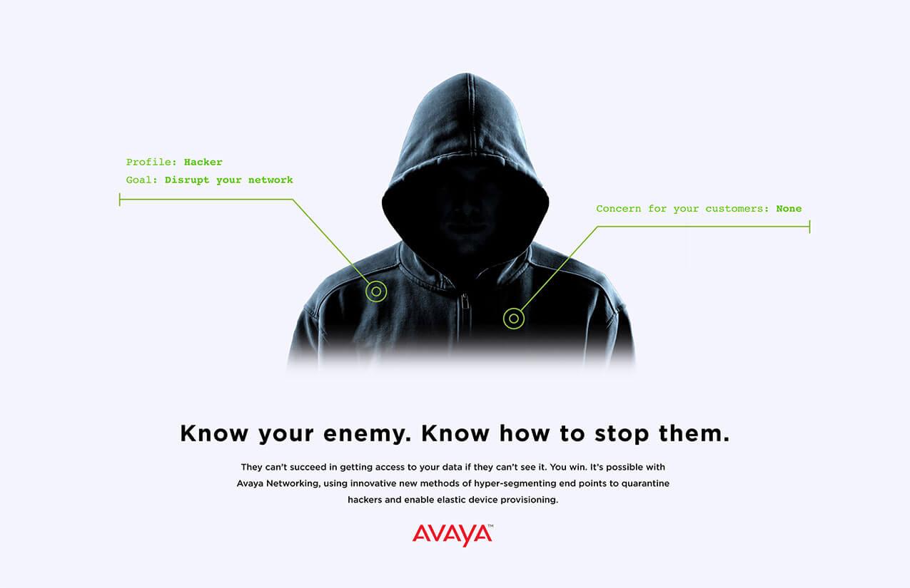 Avaya Networking Campaign - Benton Design LLC
